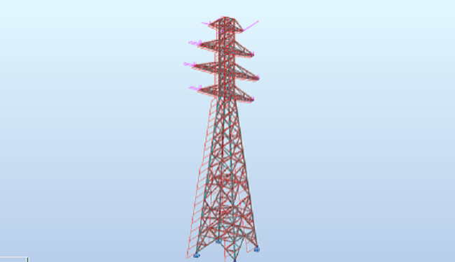 Study & Design of Power Transmission Tower<br> 4