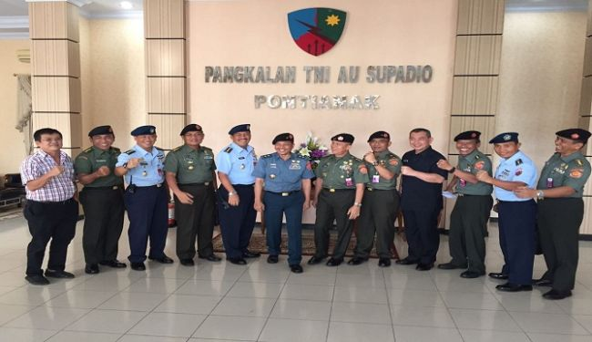 Senior Officers of Ministry of Defense Inspected Construction Projects in West Kalimantan 2