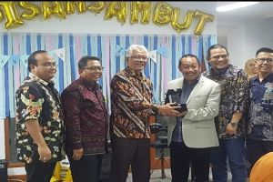 Farewell  Welcome Ceremony of The Director of Lemtek UI